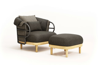 Dune lounge chair  by  Gloster Furniture