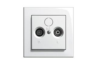 E2 Aerial socket  by  Gira