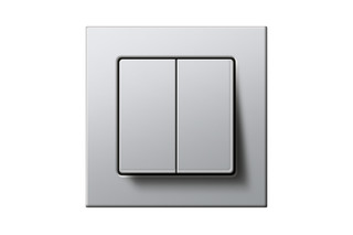 E22 two gang dimmer  by  Gira
