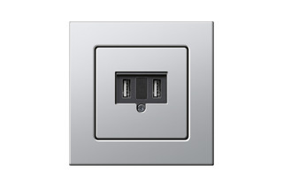E22 USB outlet  by  Gira