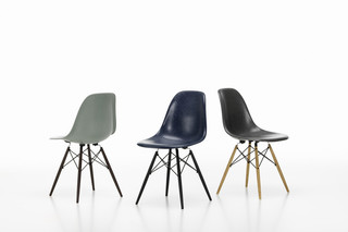 Eames fiberglass chair  by  Vitra
