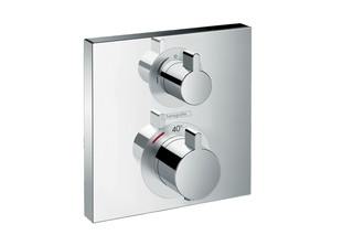 Ecostat Square Thermostat for concealed installation for 1 function  by  Hansgrohe