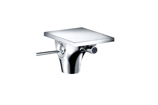 Axor Massaud Single lever bidet mixer with pop-up waste set  by  AXOR