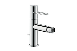 Axor Uno Single lever bidet mixer loop handle with pop-up waste set  by  AXOR