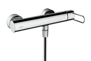 Axor Uno Single lever shower mixer for exposed installation, loop handle  by  AXOR
