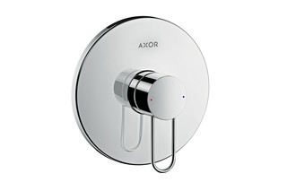 Axor Uno Single lever shower mixer for concealed installation, loop handle  by  AXOR