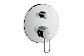 Axor Uno Single lever bath mixer for concealed installation, loop handle  by  AXOR