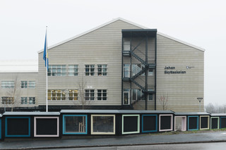 concrete skin, Johan Skytteskolan primary school  by  Rieder