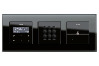 Esprit RDS flush-mounted radio  by  Gira