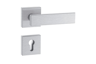 Standard door fitting B-technology satin  by  HEWI