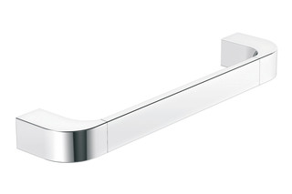 Support rail chrome, c to c 300 mm  by  HEWI
