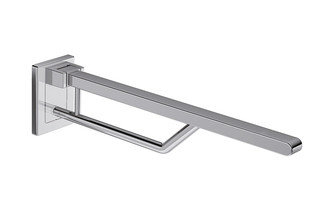 Mobile hinged support rail Duo 700 mm projection  by  HEWI