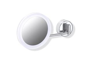 Kosmetikspiegel, beleuchtet  von  HEWI