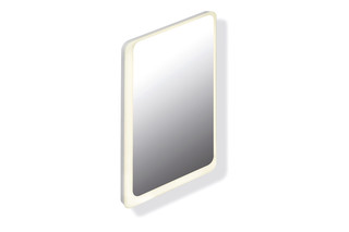 LED illuminated mirror  by  HEWI