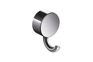Coat hook finish - chrome, ø 40 mm  by  HEWI
