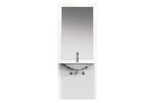 Washbasin module White, washbasin M40.11.101  by  HEWI