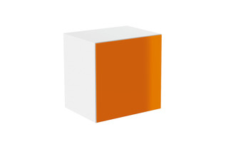 Basic module glass front orange  by  HEWI