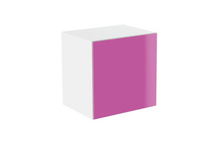 Basic module glass front pink  by  HEWI