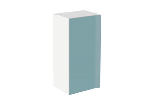 Cabinet module glass front aqua  by  HEWI