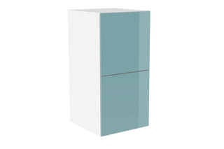 Pull-out cabinet glass front aqua  by  HEWI