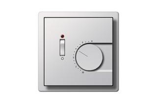 Flächenschalter Raumtemperatur-Regler mit Ein-/Ausschalter  von  Gira