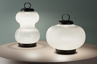 Kanji table lamp  by  FontanaArte