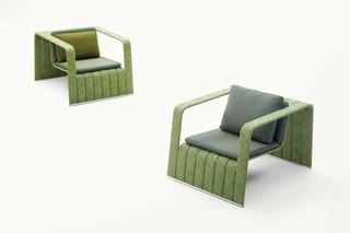 Frame armchair  by  Paola Lenti