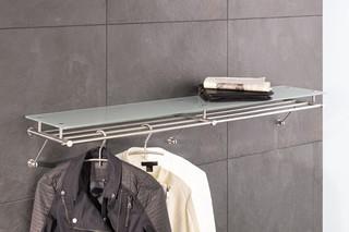 Wall wardrobe with glass shelf G5-1200G  by  PHOS