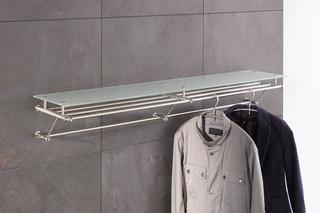 Wall wardrobe with glass shelf G8-1200G  by  PHOS