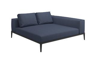 Grid Lounge-Modul  von  Gloster Furniture