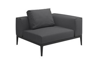 Grid Kleines Eck-Modul  von  Gloster Furniture