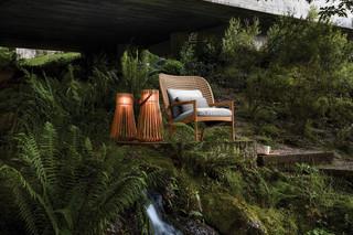 Kay hoher Sessel  von  Gloster Furniture