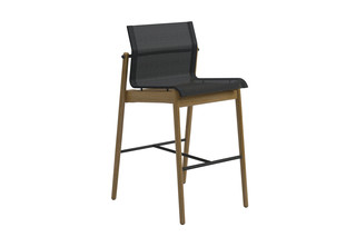 Sway bar stool  by  Gloster Furniture