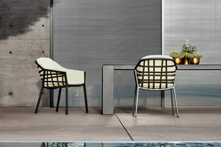 Basket dining chair  by  solpuri