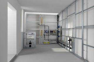 GIS installation systems  by  Geberit