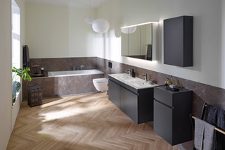 Renova und Renova Plan bath tubs  by  Geberit