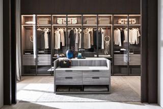 Gliss Master walk-In closet  by  Molteni&C