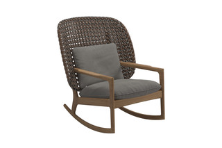Kay hoher Schaukelstuhl  von  Gloster Furniture
