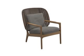 Kay niedriger Sessel  von  Gloster Furniture