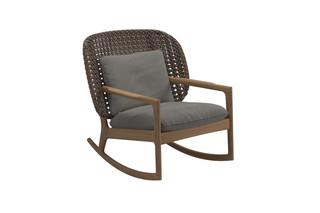 Kay niedriger Schaukelstuhl  von  Gloster Furniture
