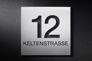 House number HNS160x160  by  PHOS
