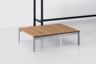 be-Easy slatted small table  by  Kristalia