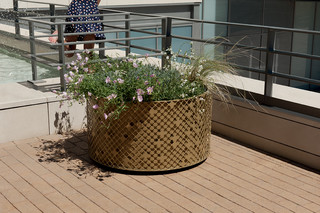 Elinium planter  by  CYRIA