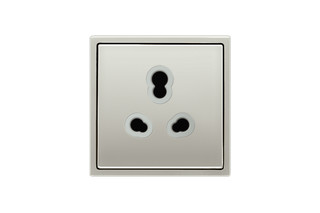 Socket Indian Standard in stainless steel  by  JUNG