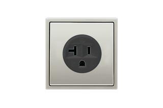 Socket US standard NEMA in stainless steel  by  JUNG