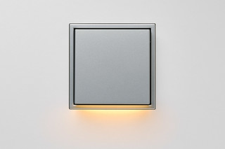 LS Zero LED Wall Luminaire aluminium  by  JUNG