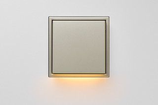 LS Zero LED Wall Luminaire stainless steel  by  JUNG