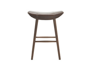 Kya kitchen stool with wooden frame  by  Freifrau