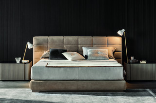 Lawrence Bed  by  Minotti