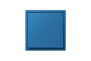 LS 990 in Les Couleurs® Le Corbusier Switch in The powerful cerulean  by  JUNG
